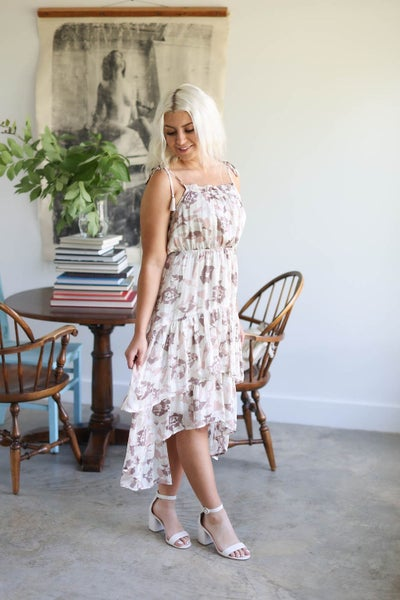 Floral Ruffle Tiered Maxi Dress