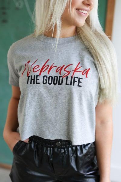 The Good Life Crop Tee