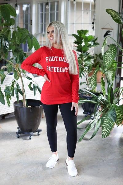 Football Saturdays Long Sleeve Tee