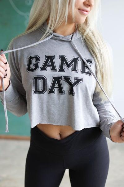 Game Day Crop Hoodie