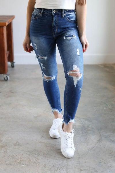 Samantha High Rise Skinny Jean