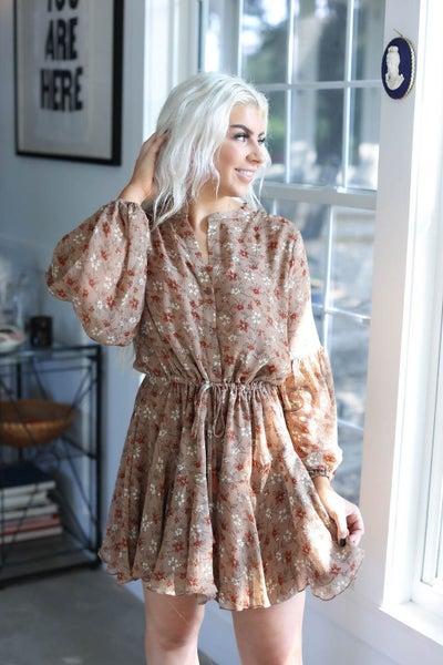 Delaney Floral Dress