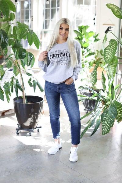 Saturday Football Crewneck Sweatshirt