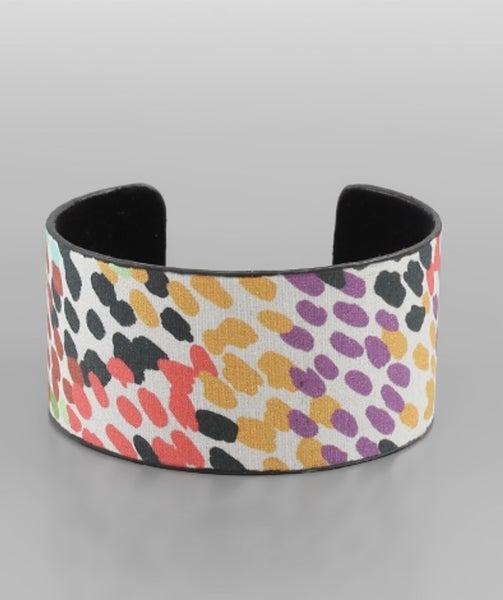 Dottie Fabric Cuff Bracelet