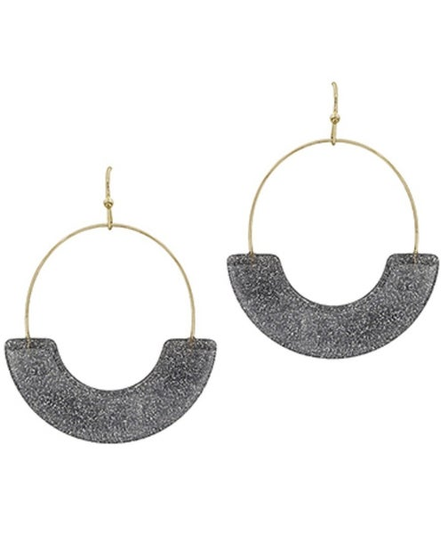 Greyson Gold Acrylic Shimmer Earrings