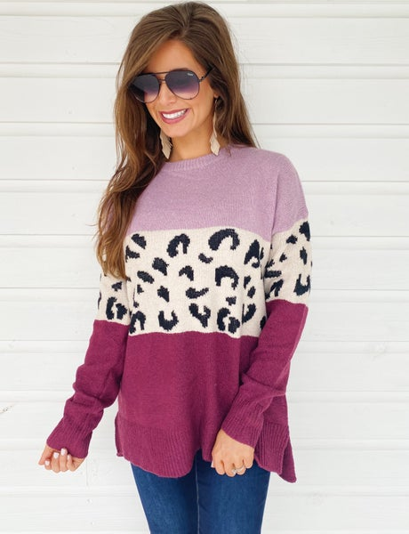 Landry Color Block Sweater