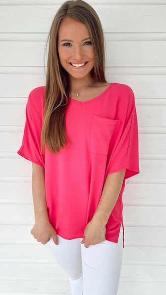 Sunburst Hot Pink Top