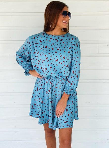 Pick Me Polka Dot Dress