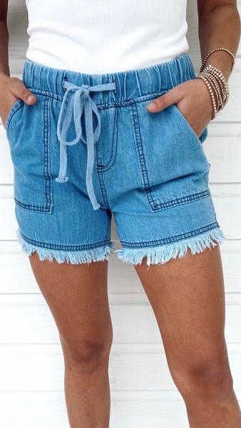 Diana Denim Shorts