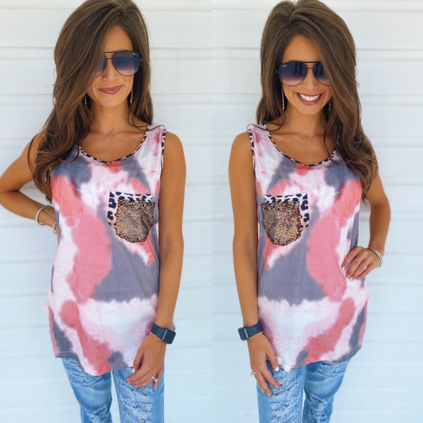 Out For The Day Printed Top