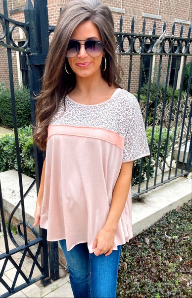 Sweet and Simple Blush Top