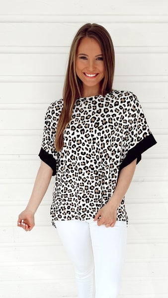 Love Me Forever Leopard Print Top