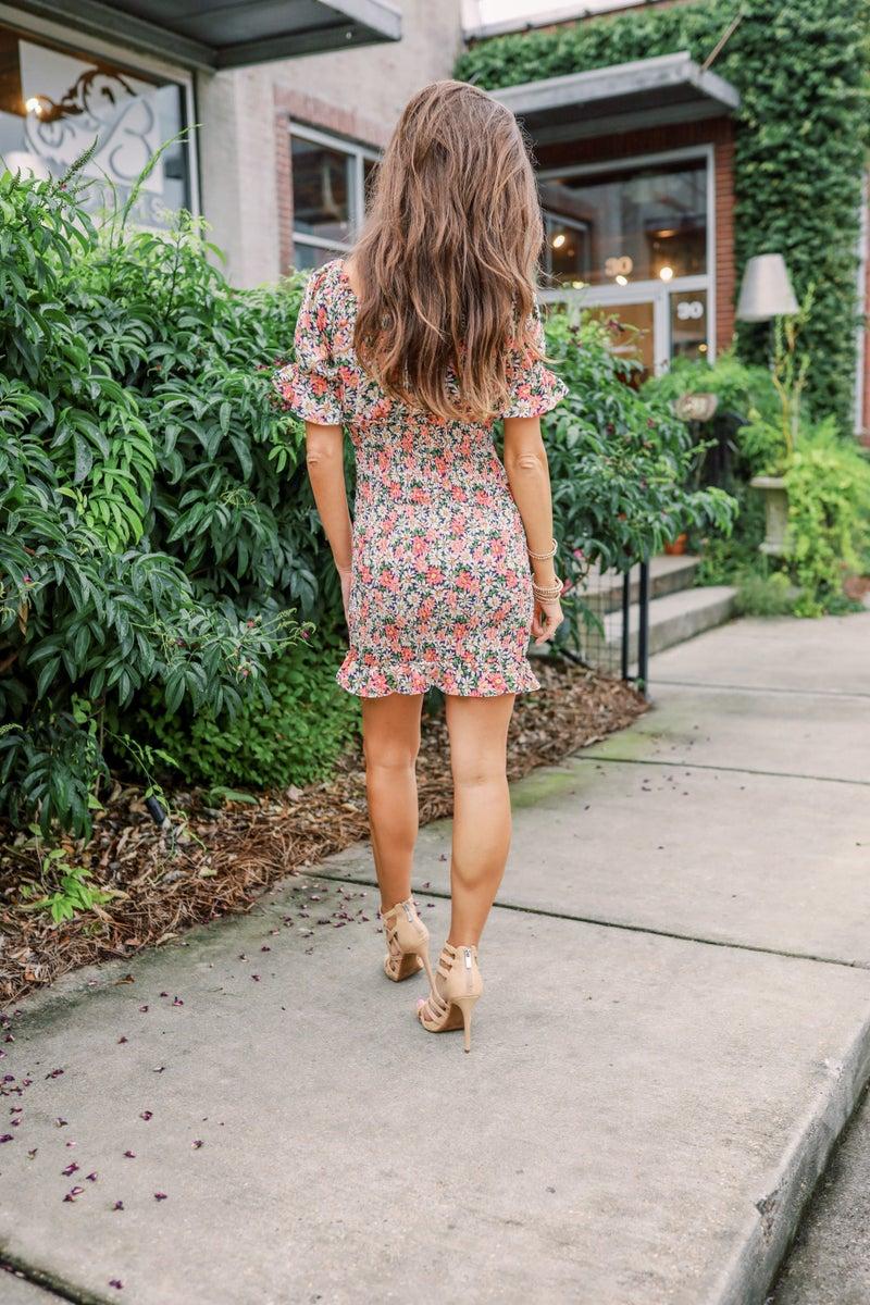 Flirty & Fun Floral Dress