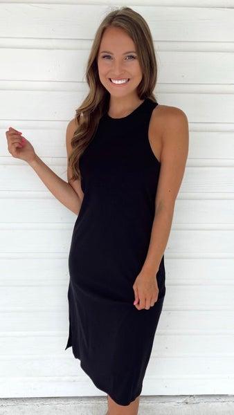 Riley Ribbed Midi Dress