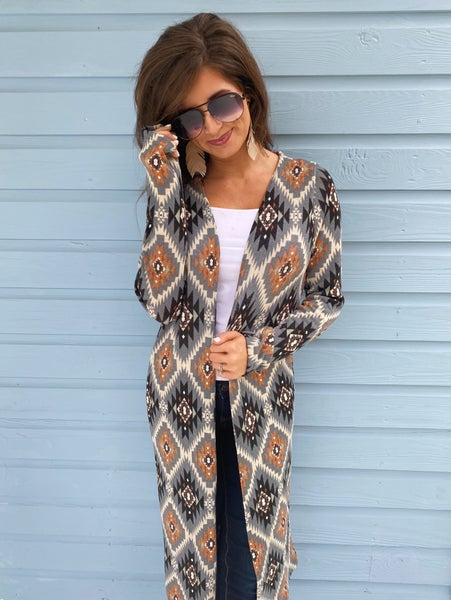 Pretty Please Printed Cardigan