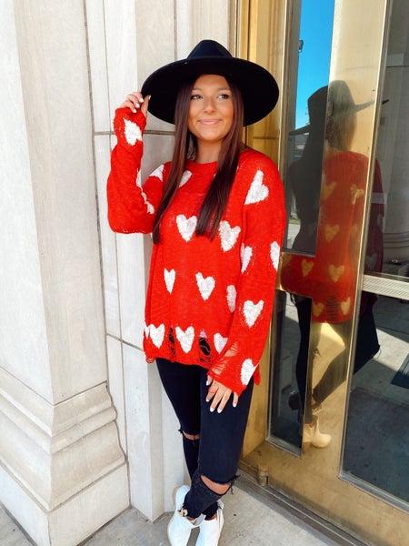 Love In My Heart Sweater