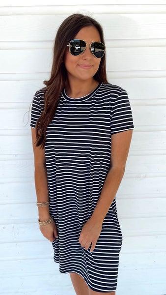 Striped Day Trip Dress
