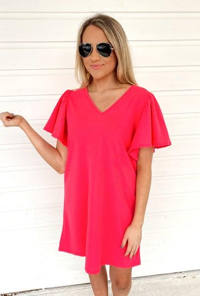 Hali Hot Pink Dress