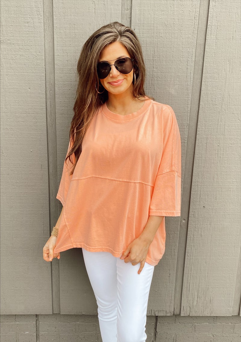 Everleigh Everlasting Coral Top