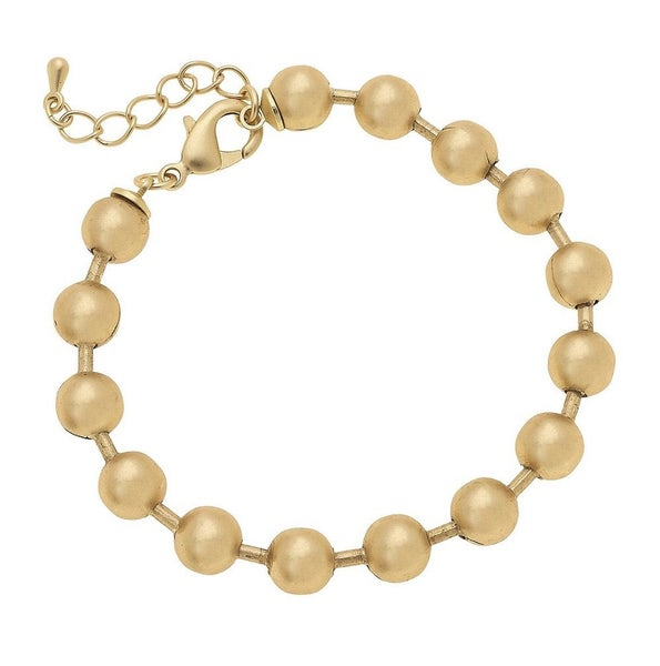 Life is a Ball Bracelet- Gold