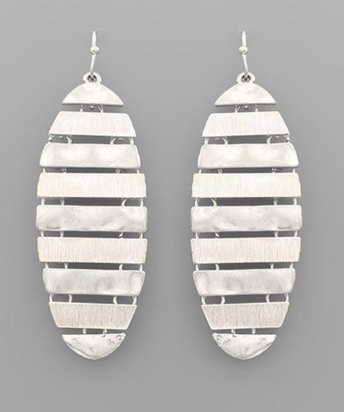 The Lizzie Earrings-silver