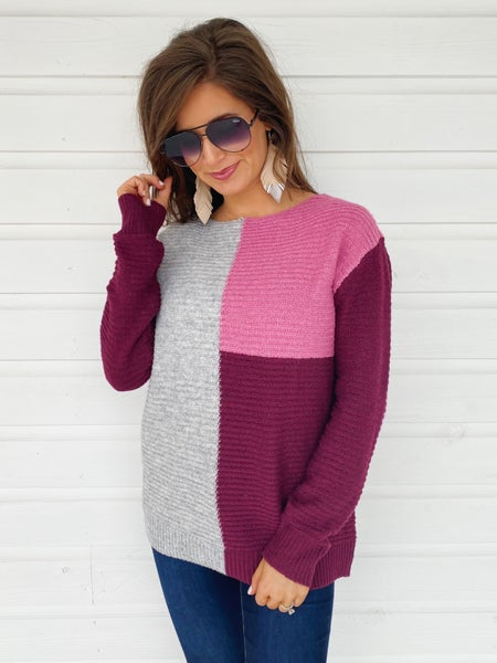 Sweet As A Plum Sweater