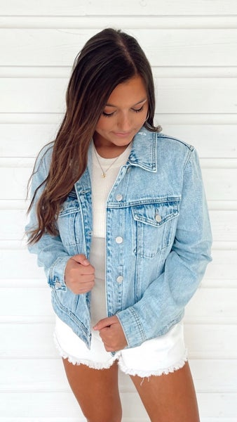Carrie Classic Denim Jacket