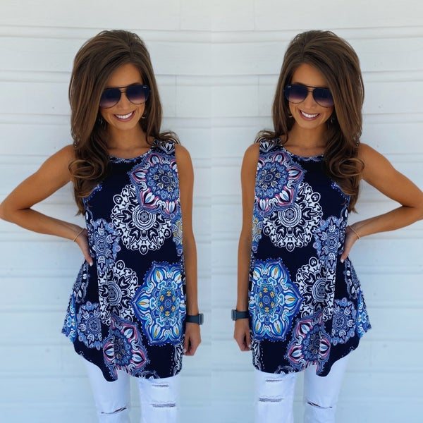 Precious In Florals Tunic