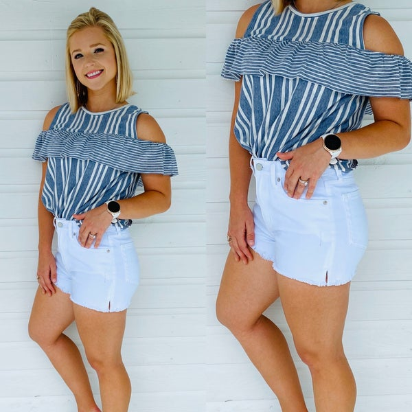 Seize The Day Open Shoulder Top