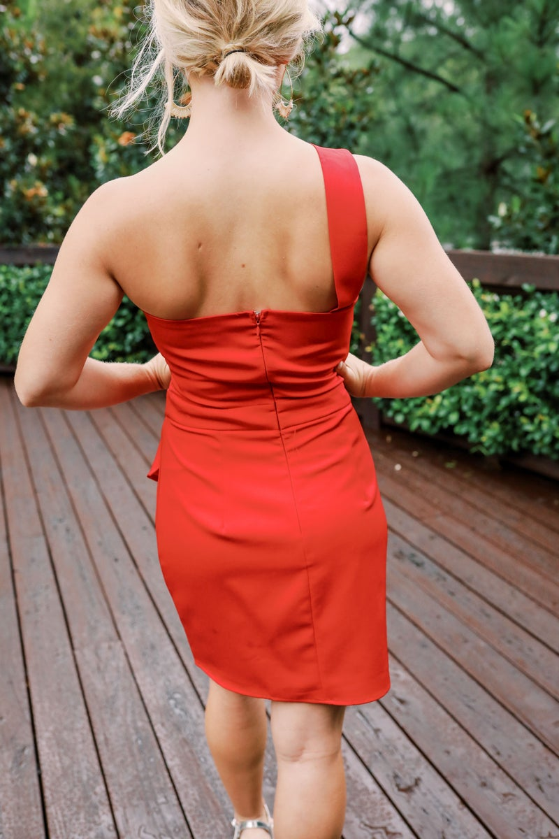 Reality Check Red Dress