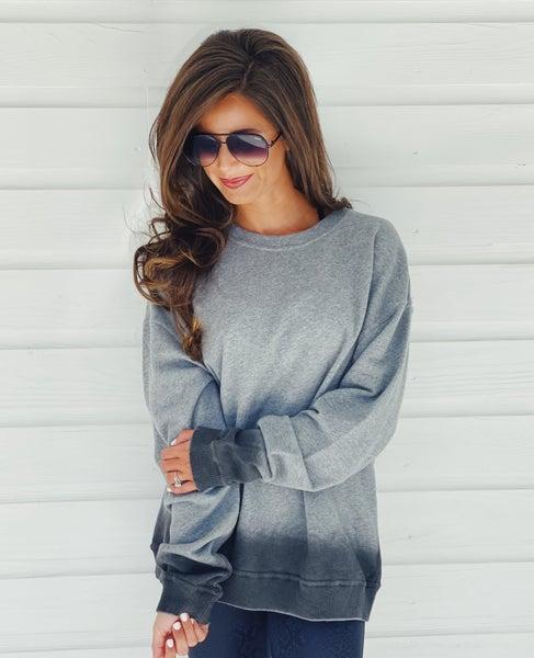 Grey Ombré Pullover