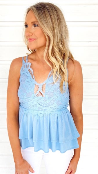 Lady Lace Cami Top