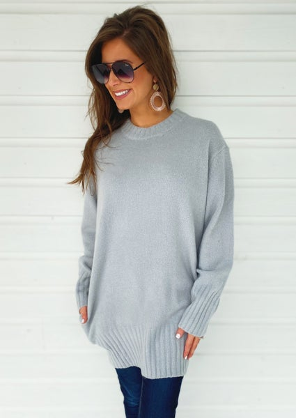 Harper Grey Sweater