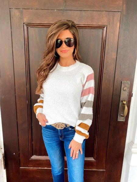 Amelia Ivory Sweater