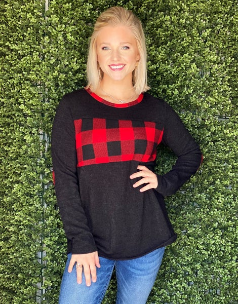 Perfect Plaid Sweater *Final Sale*