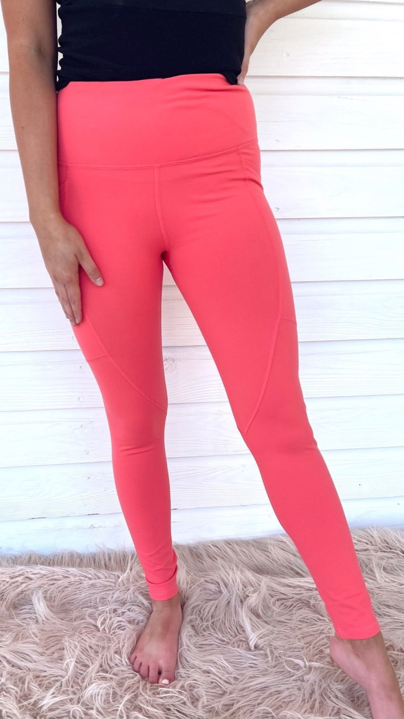 Ready For Anything Bubble Gum Leggings