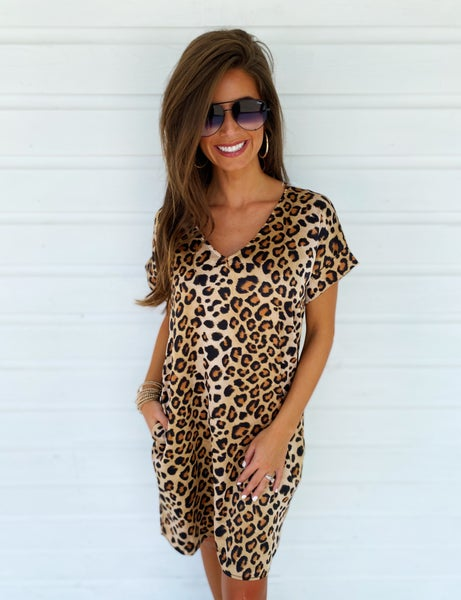 Charli Cheetah Dress