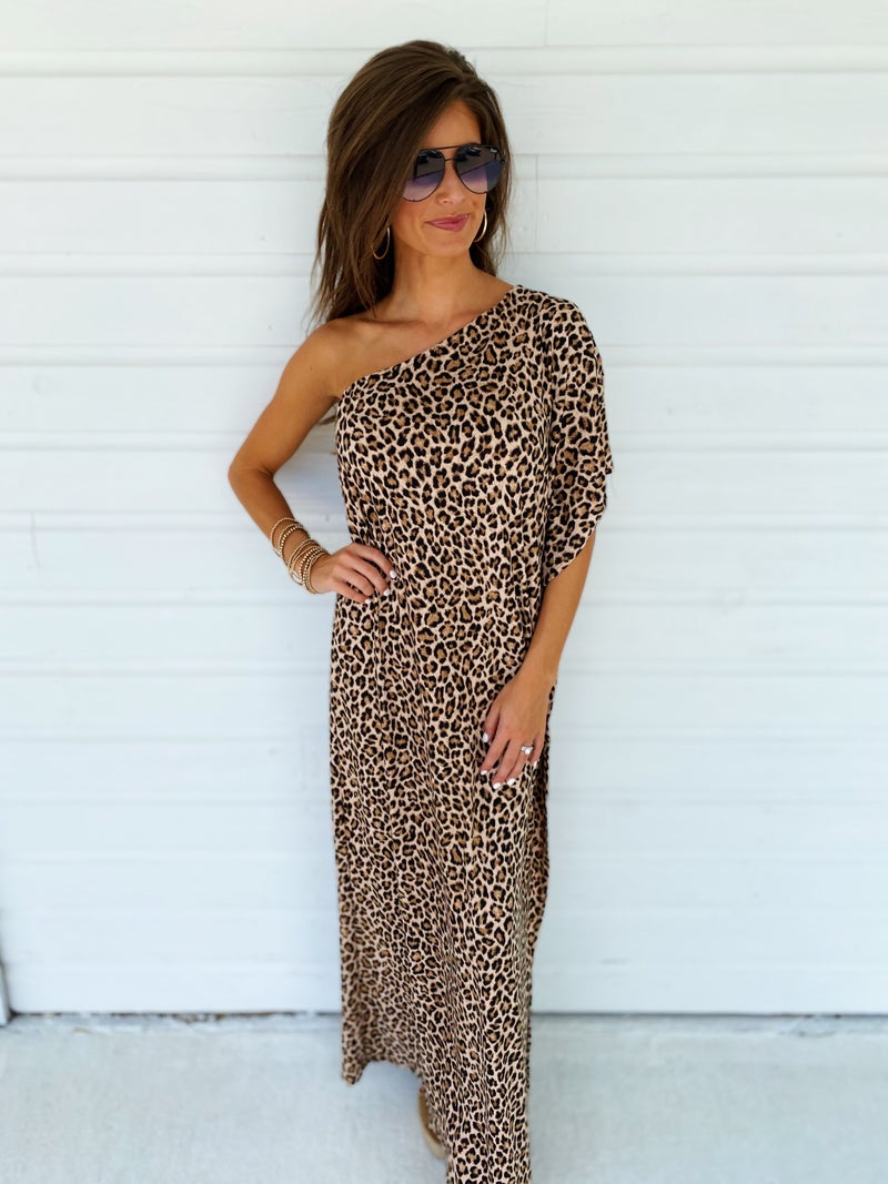 All The Chatter Cheetah Dress