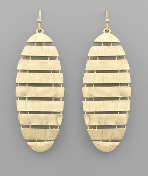 The Lizzie Earrings-gold