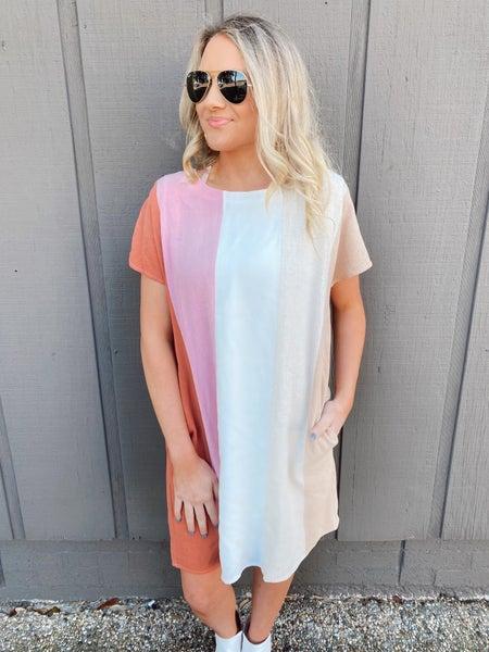 Stella Striped Dress