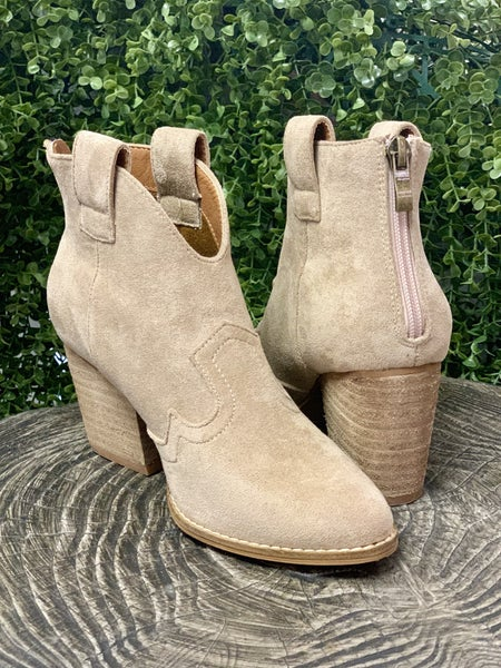 Abby Taupe Bootie *Final Sale*