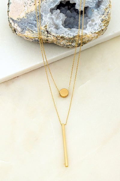 Gold Layer Necklace