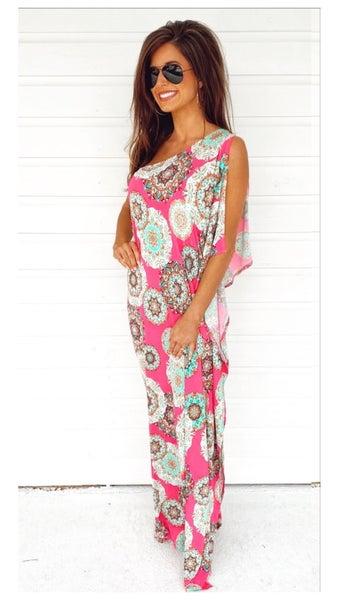 Party Pink Fuchsia Dress