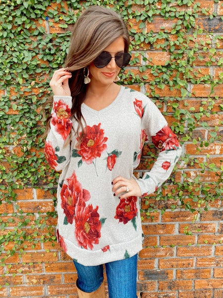 Bloomin' For You Tunic