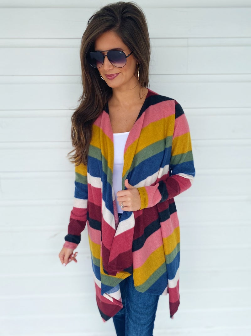 End Of The Rainbow Cardigan