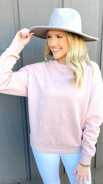 Chilling in Pink Sweatshirt