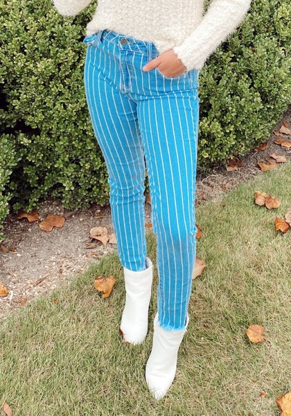 Senna Striped Skinnies