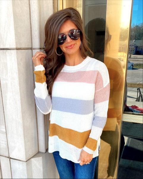 Cute as a Button Lightweight Sweater