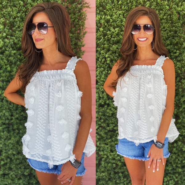 On Cloud Nine White Top