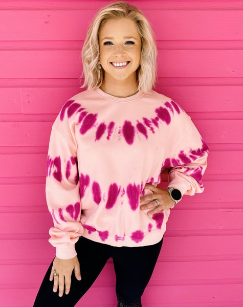 In Love With Pink Pullover *Final Sale*